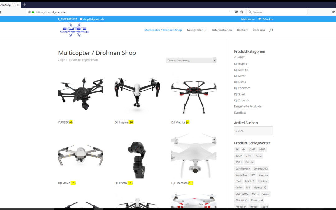Drohnen Shop