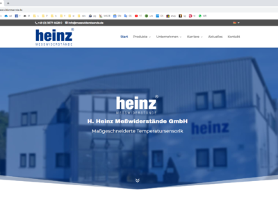 Heinz Messwiderstände