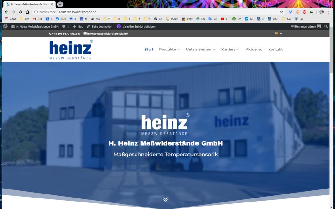 H. Heinz Meßwiderstände